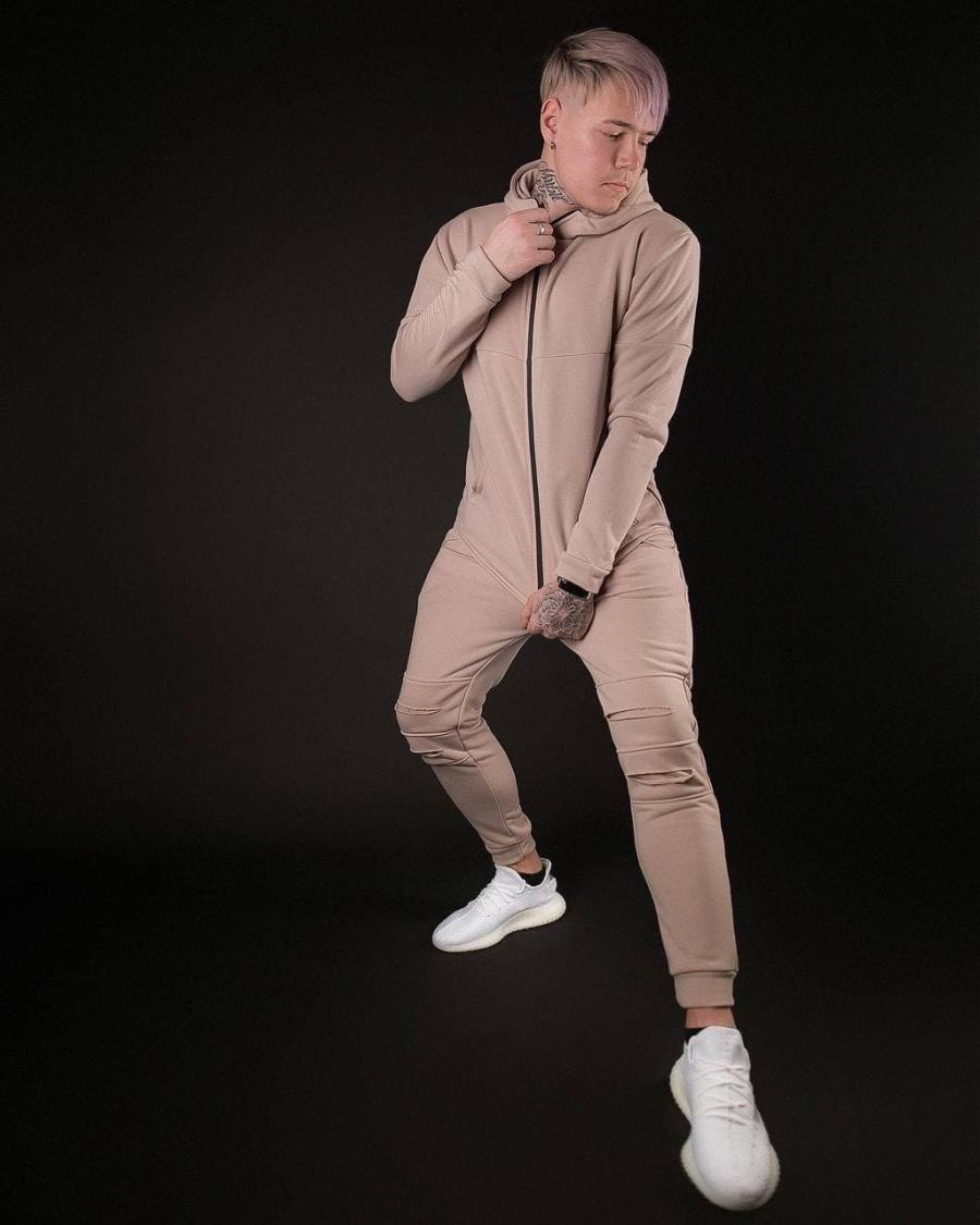 Спорт костюм бежевый Dsquared Limit 1.0 D148